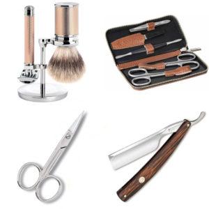 Nombreux articles de manucure, couture et rasage masculin sur les-ciseaux.com