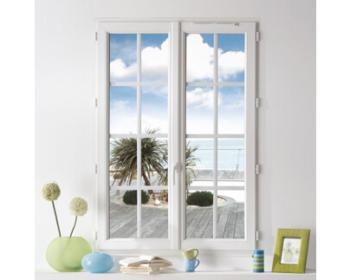 Fenêtre avec petits bois