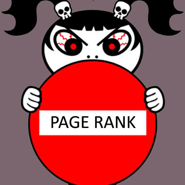 Interdiction page rank