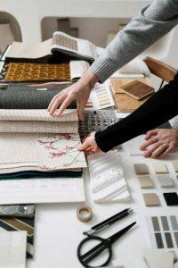 Atelier de couture de vêtement