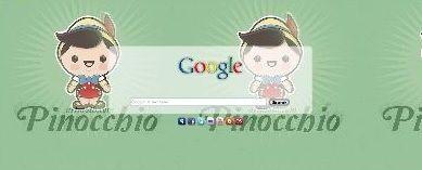 Pinocchio Google