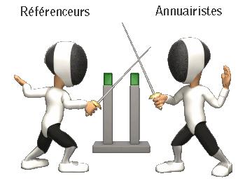 Référenceurs vs Annuairistes