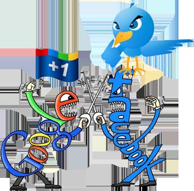 Trois principaux réseaux sociaux